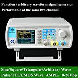 Q-BAIHE High Precision Dual-channel Signal Source Generator DDS Direct Digital Synthesis Technology Arbitrary Waveform Frequency Meter 266MSa/s 0~15MHz