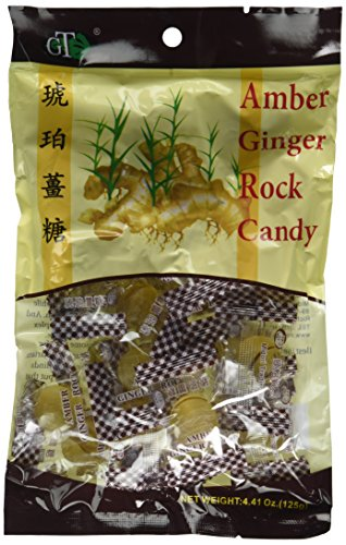 Gt-Amber Ginger Candy (Hard) (10 Pack 4.41oz) total 44.1 oz