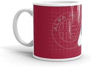 Alfa Romeo Quadrifoglio Ispirazione 11 Oz Ceramic