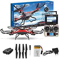 Outtop Christmas Gift JJRC H8D 6-Axis GyroOuttop 5.8G FPV RC Quadcopter Drone HD Camera+Monitor+2 Battery