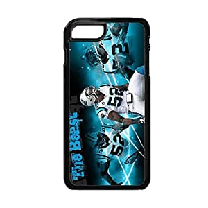 Generic Thin Phone Cases For Girls Design With Nfl Carolina Panthers For Iphone 6 Plus 5.5 Inch Choose Design 1 Kimberly Kurzendoerfer