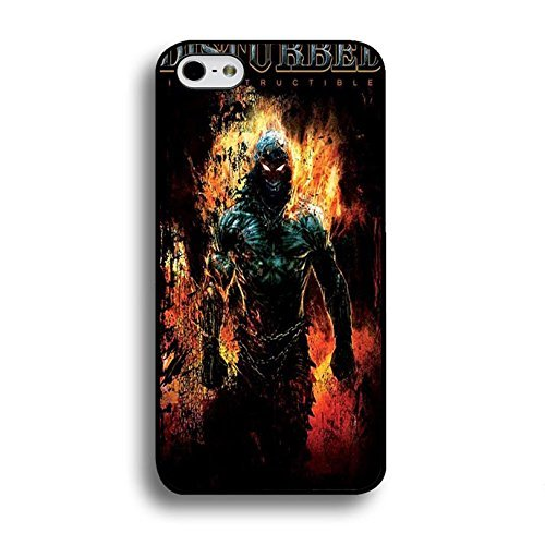 Iphone 6 / 6s ( 4.7 Inch ) Cover Shell Unique Bright Fire Printed Nu Metal Rock Band Disturbed Phone Case Cover Disturbed Stylish