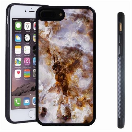 iphone 7 8 Plus case, SoloShow(R) Slim Shockproof TPU Soft Case Rubber Silicone for Apple iphone 7 8 Plus [Marble v] -