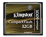 32gb cf card kingston - Kingston Digital CompactFlash Ultimate 600x 32 GB Flash Drive CF/32GB-U3