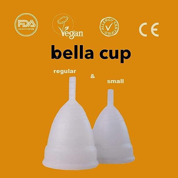 Copa menstrual Bella Cup 2020, suave, flexible, reutilizable ...