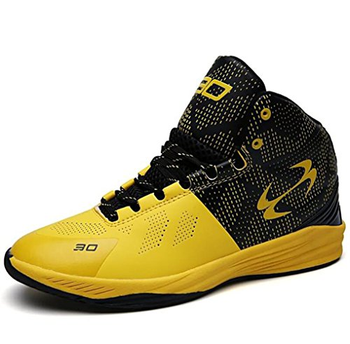Respirant Course Chaussures Sport Yellow Chaussures Course De De Baskets Hommes Basket 2628db