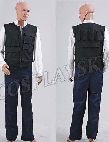 Disfraz de Han Solo ANH a new Hope Star Wars Chaleco Camisa ...