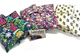 Set of 2 Microwave Heating Pads With Flax Seeds, BooBoo Saks, Flax saks for children. Great for bedtime soothers or huggers. Removable washable covers. Great Gift!