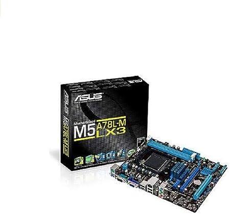 ASUS M5A78L-M LX3 - Placa base (DDR3-SDRAM, DIMM, Dual, AMD, Athlon, Athlon FX, Phenom, Sempron, Socket AM3+): Asustek: Amazon.es: Informática
