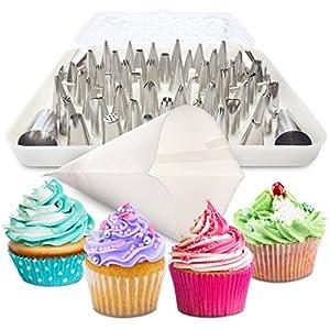 Amazon Com Bakelux Cake Decorating Tips Set Piece