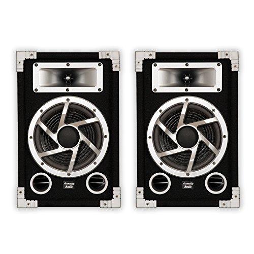 Acoustic Audio GX-450 PA Karaoke DJ Speakers 1400W 2 Way Pair