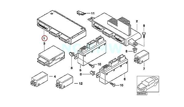 Amazon Com Bmw Genuine Basic Module 3 Automotive