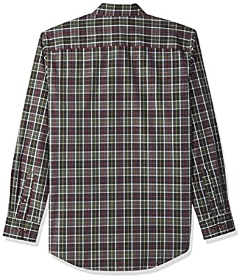 Arrow 1851 Men's Long-Sleeve Plaid Shirt