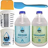 EasyPour Epoxy 1 Gallon Kit - Crystal Clear High