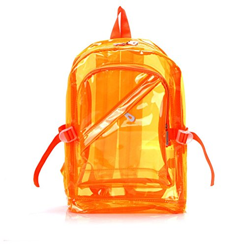 193e939d3 OULII Transparente Mochila Cute School Bolsa de hombro Candy Color Satchel  para los niños on sale