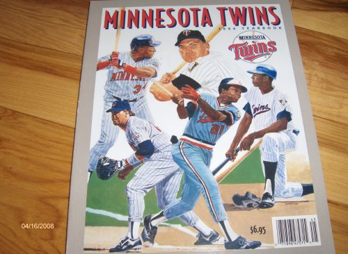 1994 Minnesota Twins Yearbook Magazine ()