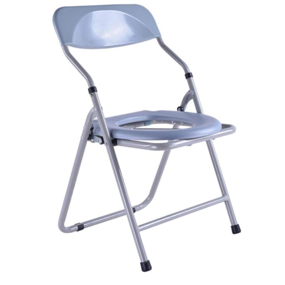Shower Stool Old Man Commode Chair Foldable Pregnant Woman Disabled Stool Chair Household Bath Chair  Bath Stool Commode Chair [Foldable] Handicap Shower Seats for Adults