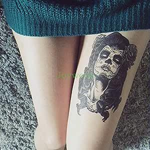 Etiqueta engomada del Tatuaje 3pcs Tatuaje de Bruja Mexicana ...