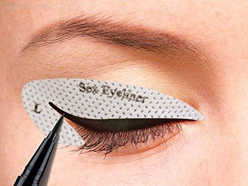 BOYON Cat Eyeliner Stencil Smoky Eyeshadow Applicators - Import It All