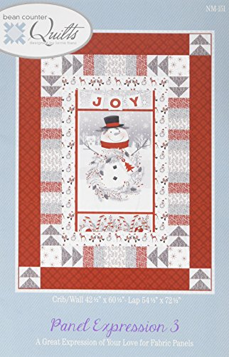 - Bean Counter Quilts NM-151 Panel Expression Pattern