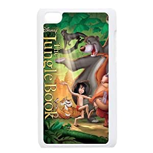 ipod 4 White phone case Classic Style Disney Cartoon Jungle Book WHD8981714
