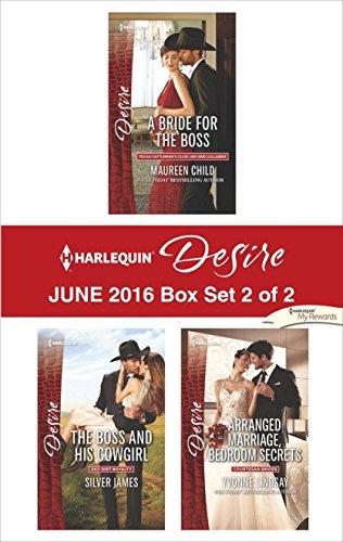 book cover of Harlequin Desire June 2016 - Box Set 2 of 2