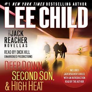 Three Jack Reacher Novellas (with Bonus Jack Reacher's Rules) Hörbuch