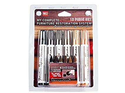 Ordinaire 12 Pc Wood Stain Markers Set   Furniture Restoration U0026 Repair Marker Pens  W/ Filler