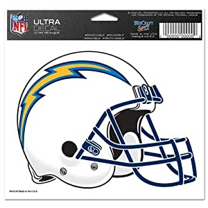 San Diego Chargers Official Logo 4x6 Ultra Decal Window