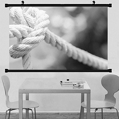 Gzhihine Wall Scroll Posterknot the rope tied in a knot represents a strong unity and harmony ,Wall Art Paiting on Canvas 40