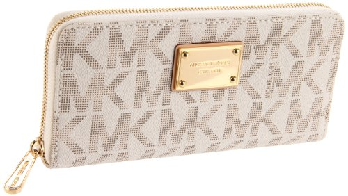 MICHAEL Michael Kors Mk Logo Zip Around Continental