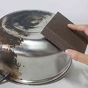 Favson - Esponja de cocina sin sabor, nano óxido, frota la ...