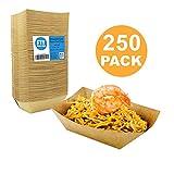 [250 Pack] 0.50 lb Heavy Duty Disposable Kraft