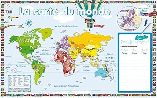 La Carte Du Monde Amazonca Collectif Books
