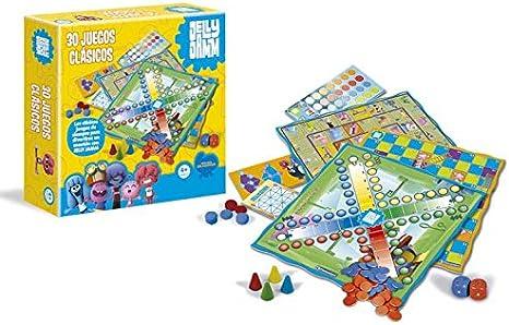 Jelly Jamm - 30 Juegos clásicos (Clementoni 65055): Amazon.es: Juguetes y juegos