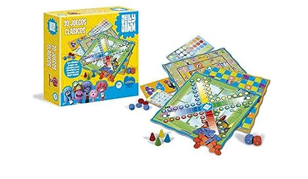 Jelly Jamm - 30 Juegos clásicos (Clementoni 65055): Amazon.es ...