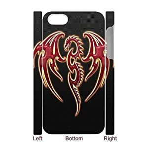 VNCASE Red Dragon Phone Case For Iphone 5C [Pattern-1]