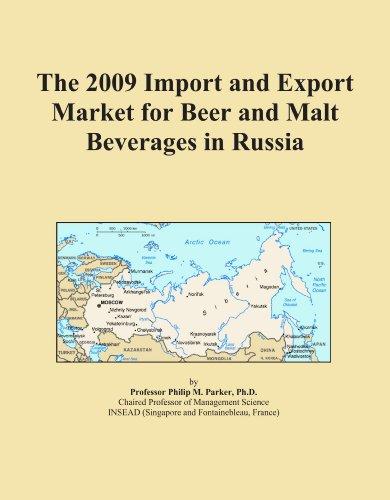 La Importación 2009y mercado de exportación para la cerveza y bebidas de Malta en Rusia