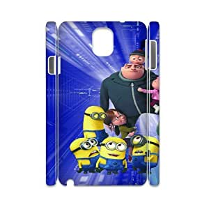 Despicable Me HILDA5097051 3D Art Print Design Phone Back Case Customized Hard Shell Protection Samsung galaxy note 3 N9000