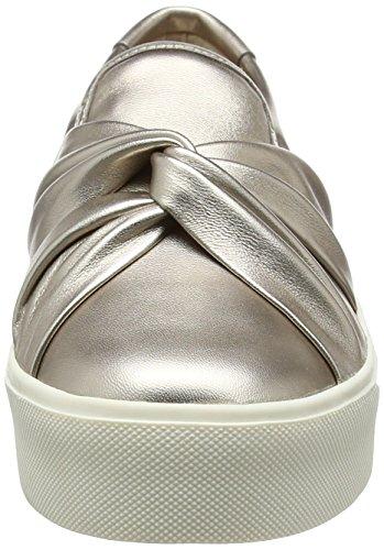 Carvela 0155162109, Zapatillas Mujer Dorado (Pewter)