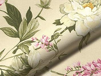 Tela para Muebles FARNESINA con Estampado de Flores, Tela ...