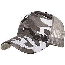 Funic Clearance Sale Camouflage Summer Cap Mesh Hats for Men Women Casual Hats Hip Hop Baseball Caps