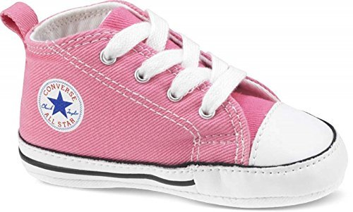 Converse First Star Chuck Taylor Infant Shoes Pink (Converse First Star Crib Shoe)