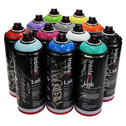 Compare price to ironlak paint for Happy color spray paint price
