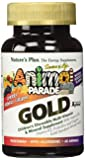 SOL Animal Parade Gold-Children's Multi-Vitamin & Mineral Assorted Flavors Nature's Plus 60 Chewable