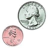 CARSON DELLOSA MONEY U.S. COINS (Set of 12)
