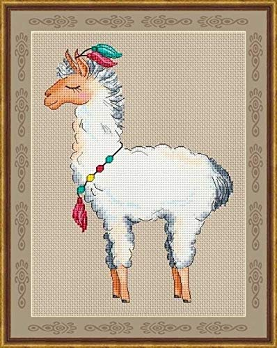 - Sheep Counted Cross Stitch Kits 80111 Stitch, 3538 cm Egyptian Cotton Floss, Counted Cotton Animal Cross Stitch Kits
