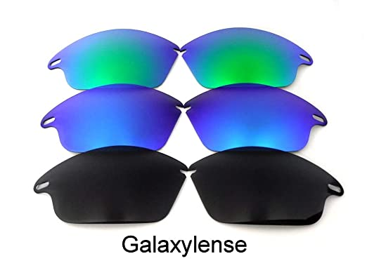 4efa765e25b Image Unavailable. Image not available for. Color  Galaxy Replacement Lenses  For Oakley Fast Jacket ...