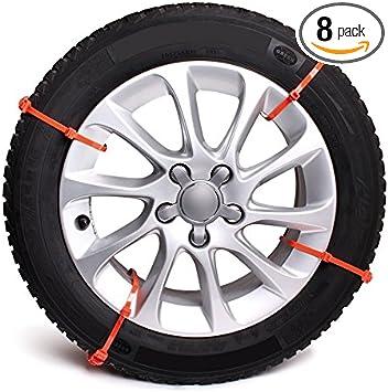 Bottari 35260 Pit Stop-8 Car /& Truck Snow Anti-Skid Wheel Tire Chains-Universal Fit Set of 8