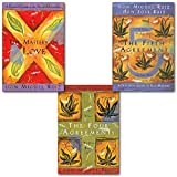 img - for Don Miguel Ruiz Toltec Wisdom Series Collection 3 Books Set,(The Four Agreements: Practical Guide to Personal Freedom, The Mastery of Love and The Fifth Agreement) book / textbook / text book
